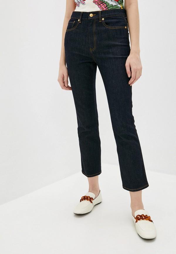 женские прямые джинсы tory burch, синие