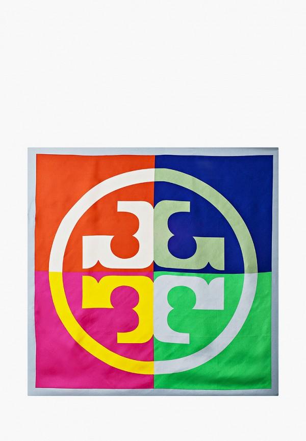 женский платок tory burch, разноцветный
