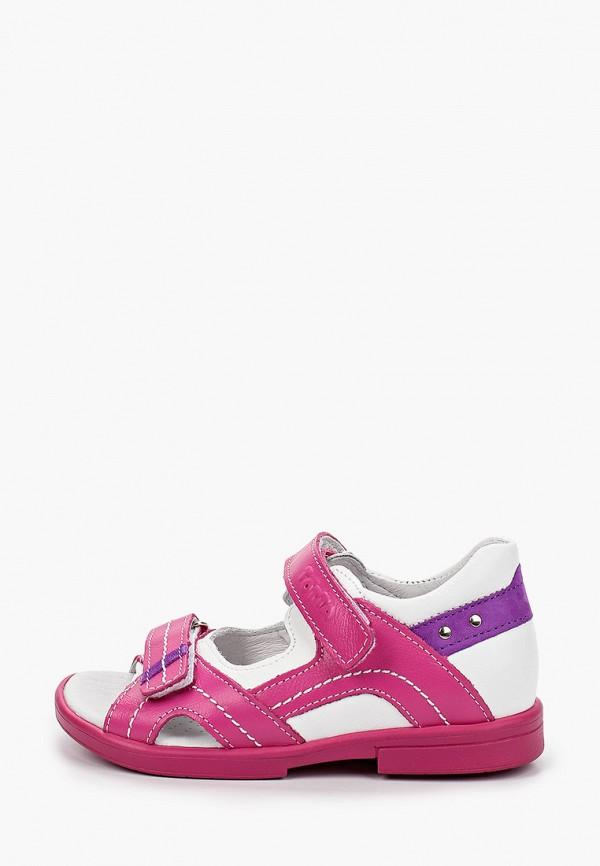 сандалии totta для девочки, розовые