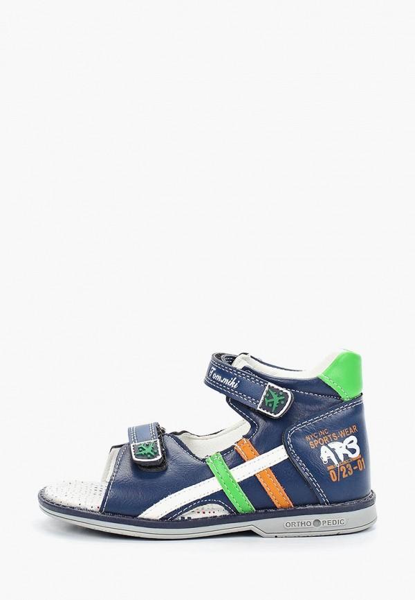 сандалии tom-miki для мальчика, синие