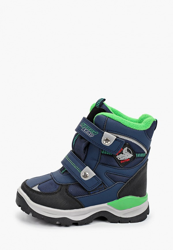 ботинки tom-miki для мальчика, синие