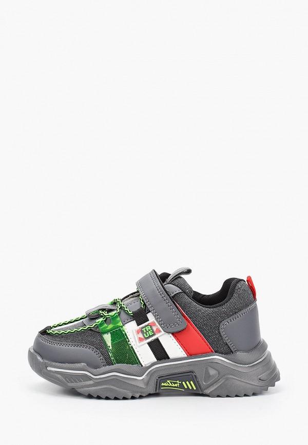 кроссовки tom-miki для мальчика, серые