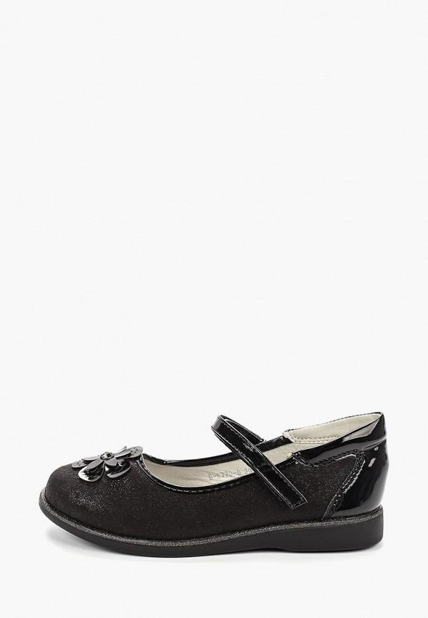 туфли tom-miki для девочки, черные