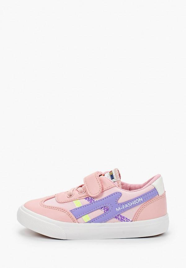 кеды tom-miki для девочки, розовые
