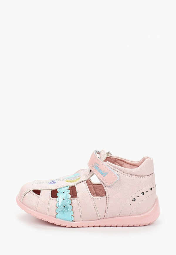 сандалии tom-miki для девочки, розовые
