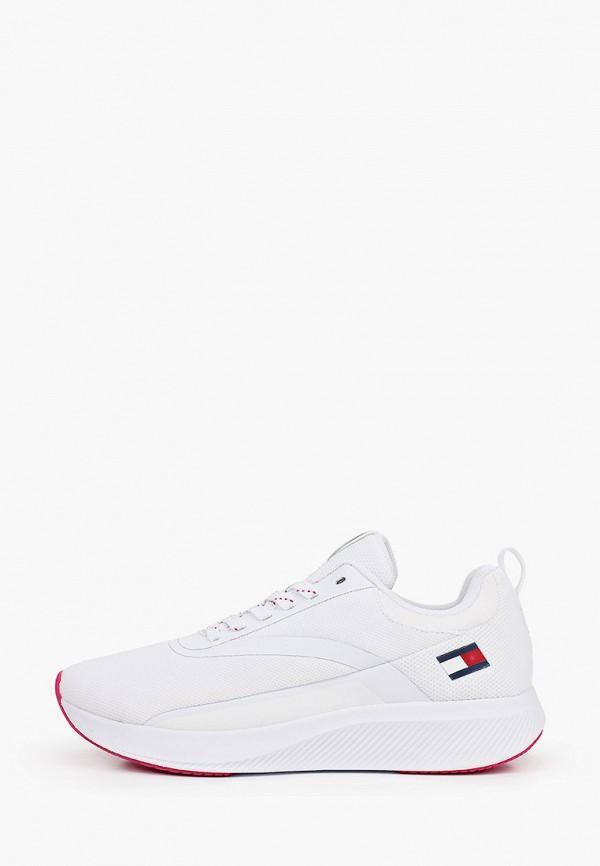 женские кроссовки tommy sport, белые