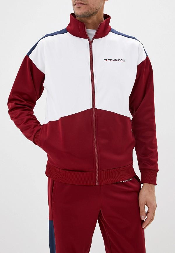 мужская спортивные олимпийка tommy sport, разноцветная