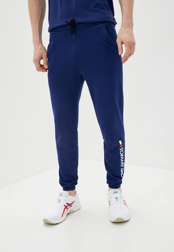 мужские спортивные брюки tommy sport, синие