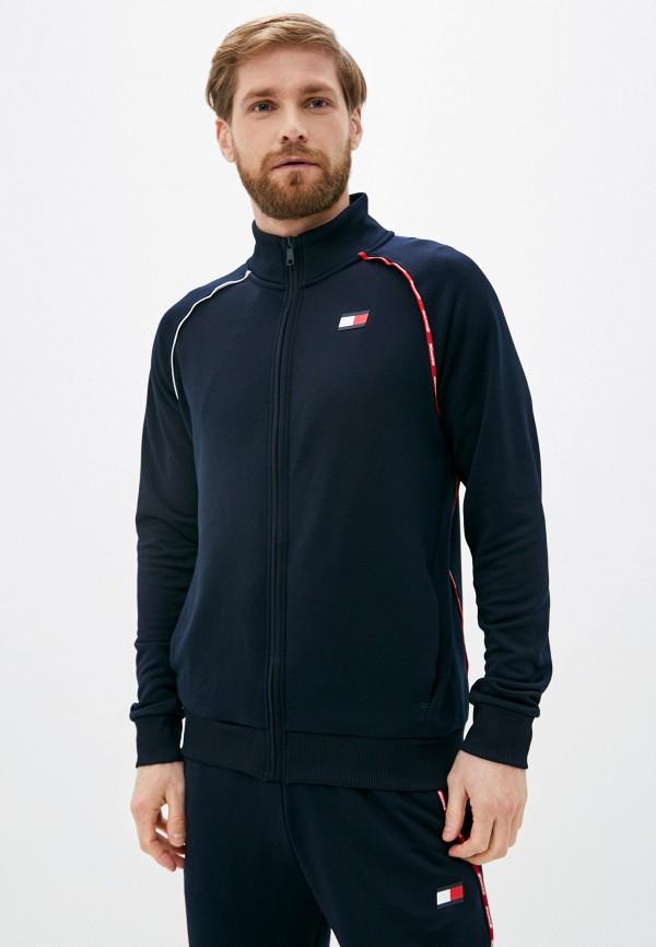 мужская олимпийка tommy sport, синяя