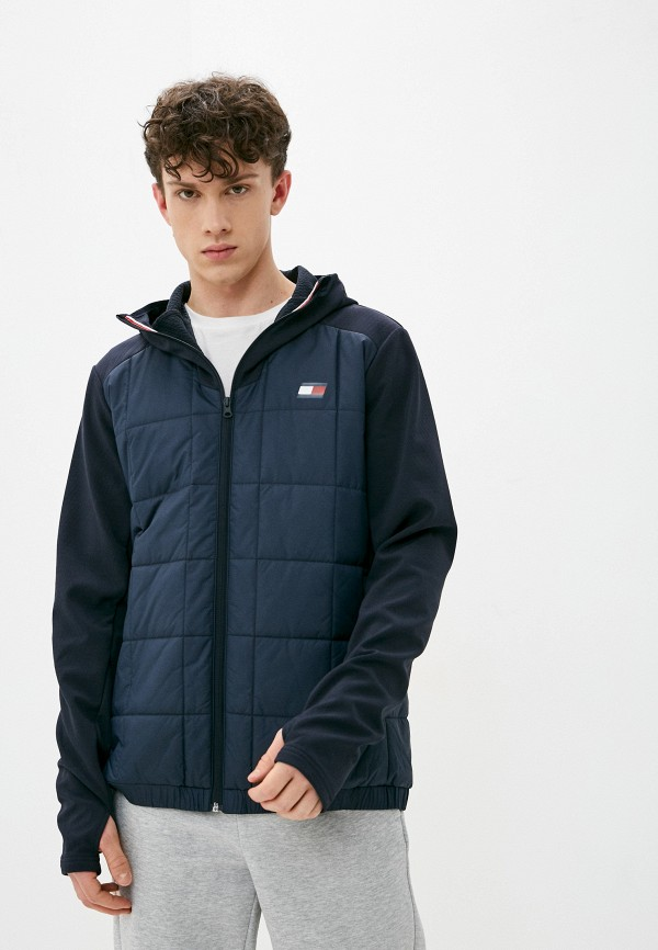 мужская куртка tommy sport, синяя