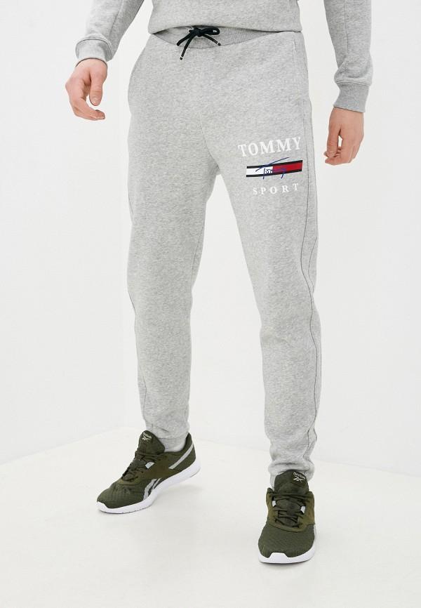 мужские спортивные брюки tommy sport, серые