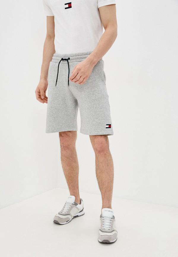 мужские спортивные шорты tommy sport, серые