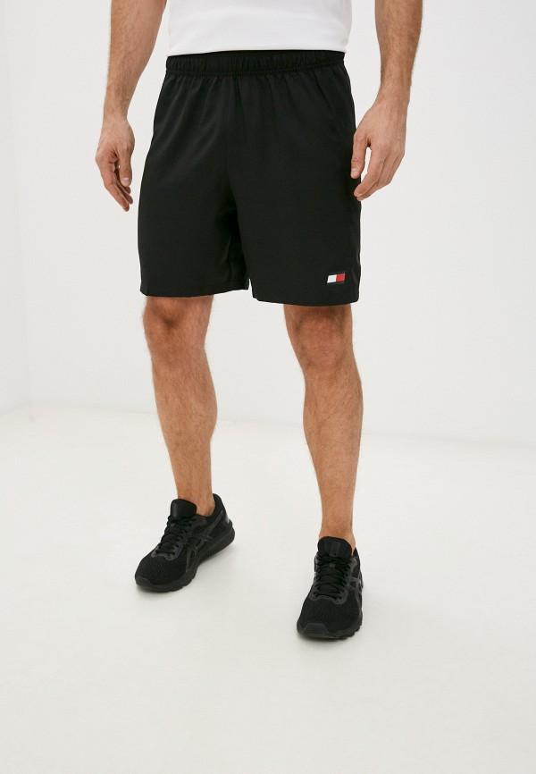 мужские спортивные шорты tommy sport, черные