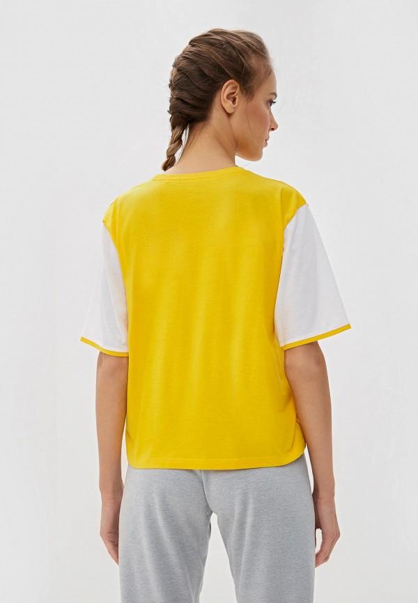 Фото 6 - Футболку Tommy Sport желтого цвета