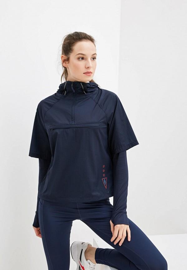 женская куртка tommy sport, синяя