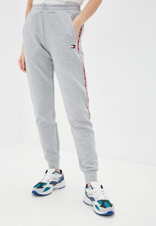 женские спортивные брюки tommy sport, серые