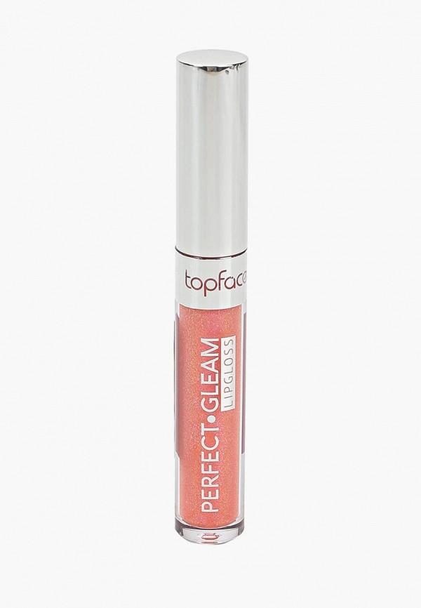 блеск для губ top face, розовый