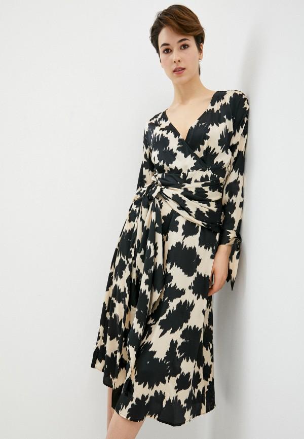 женское повседневные платье topshop boutique, бежевое