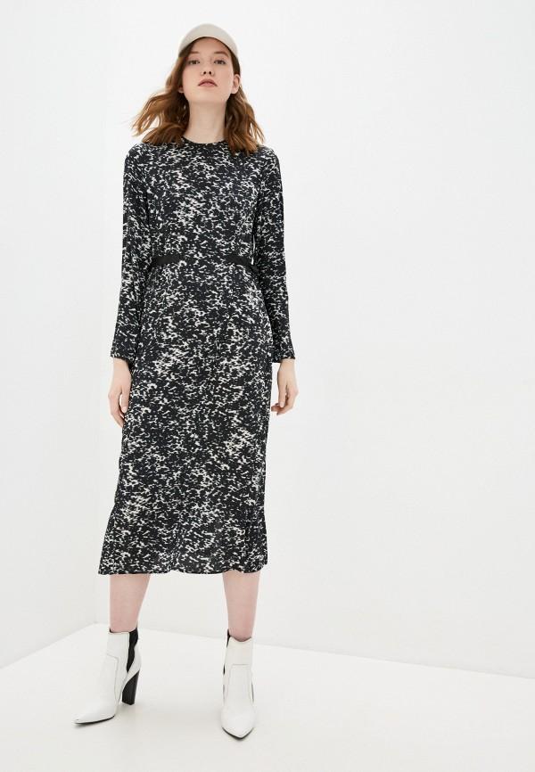 женское повседневные платье topshop boutique, черное
