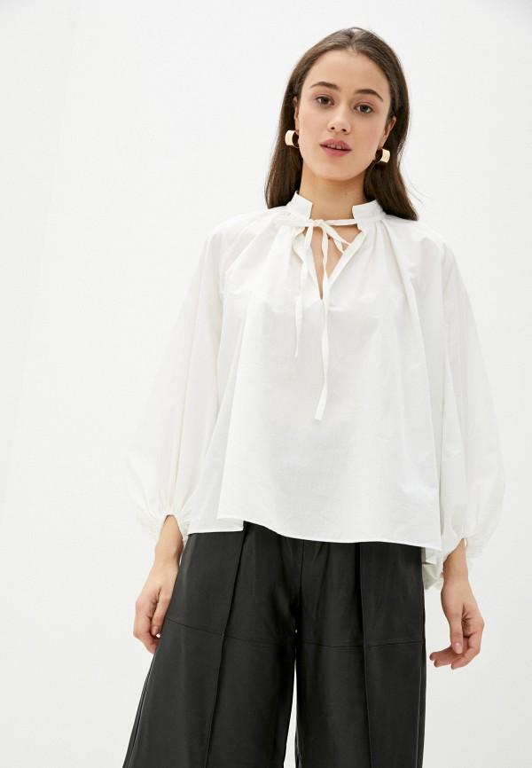 женская блузка topshop boutique, белая