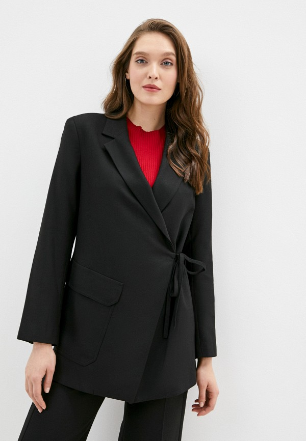 женский жакет topshop boutique, черный