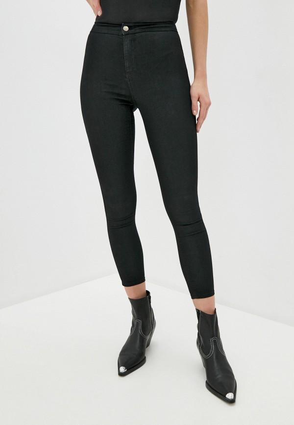 женские джинсы topshop petite, черные