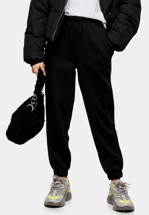 женские спортивные брюки topshop petite, черные