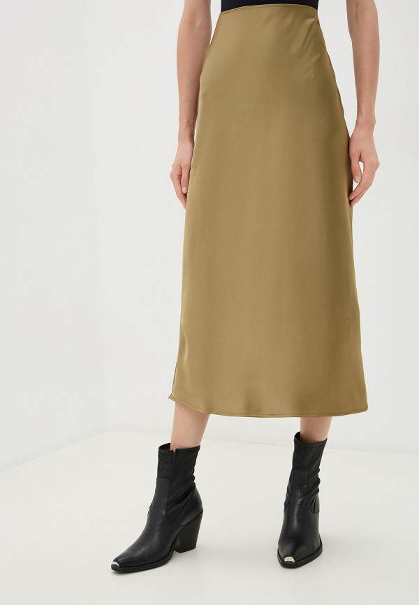 женская юбка topshop petite, хаки