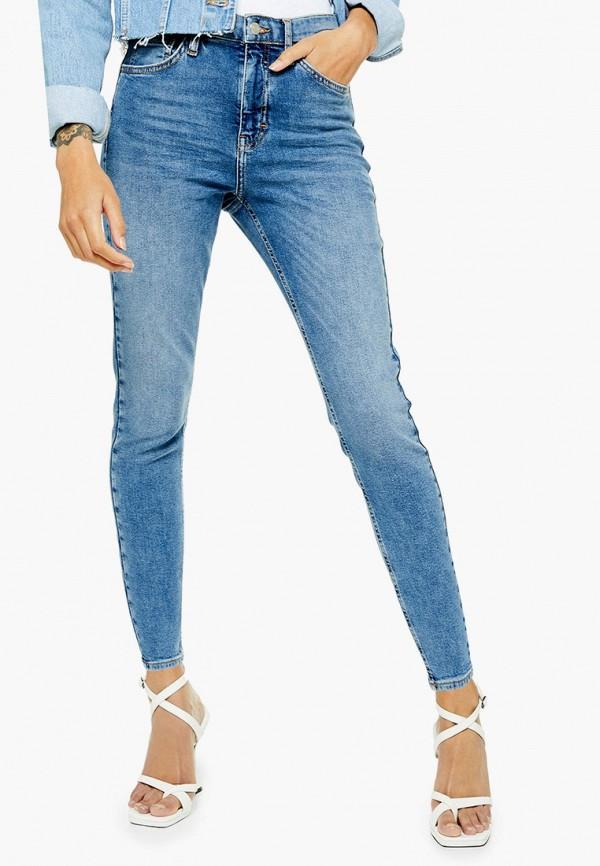 женские джинсы topshop petite, синие