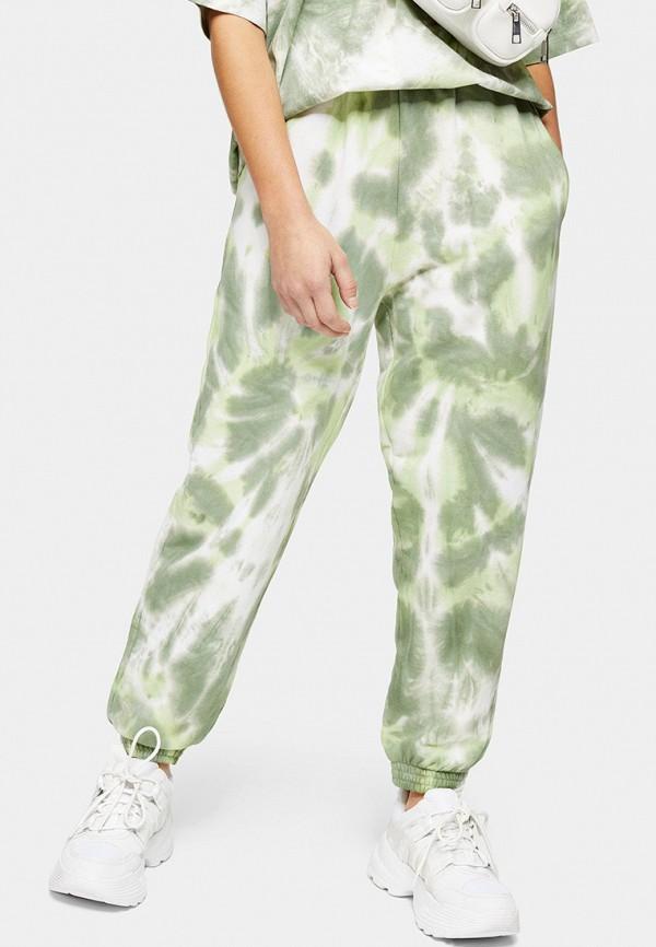 женские спортивные брюки topshop petite, хаки