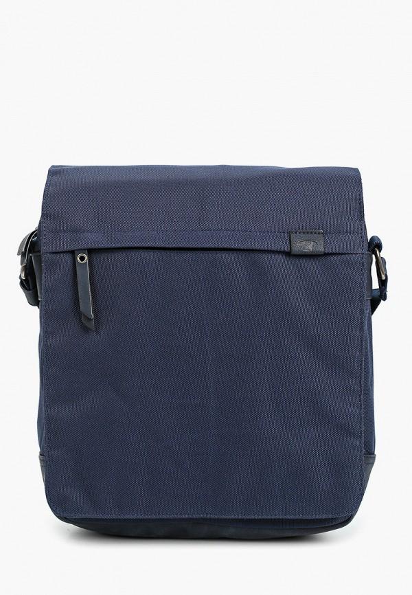мужская сумка через плечо tom tailor, синяя