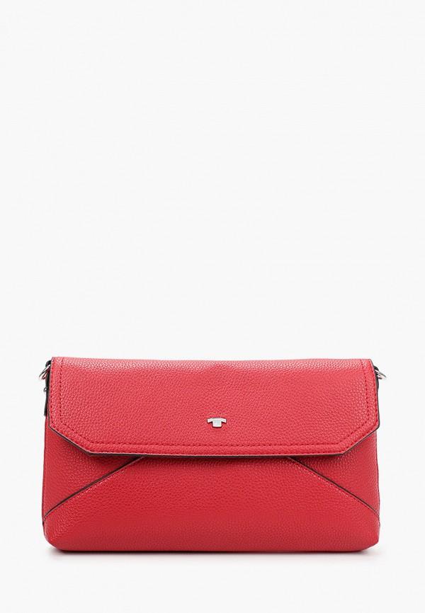 женская сумка tom tailor, красная