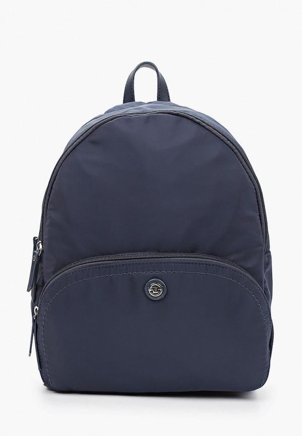 женский рюкзак tom tailor, синий