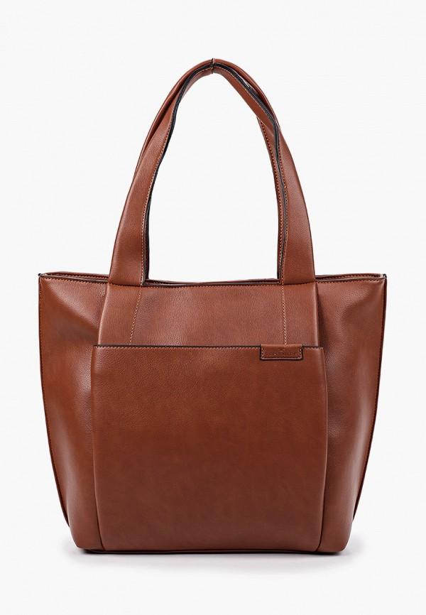 женская сумка через плечо tom tailor, хаки