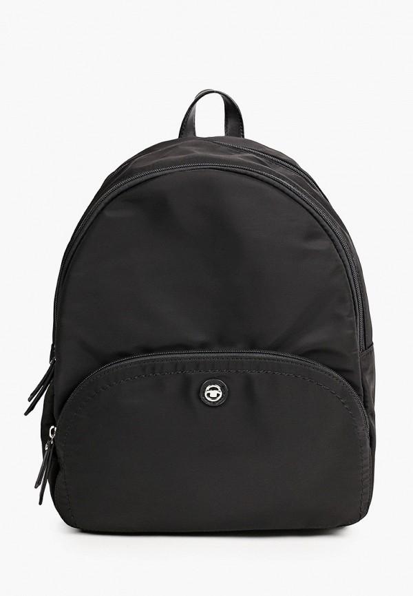 женский рюкзак tom tailor, черный