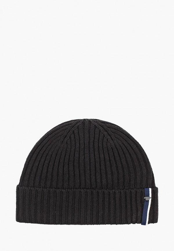 мужская шапка tom tailor, черная