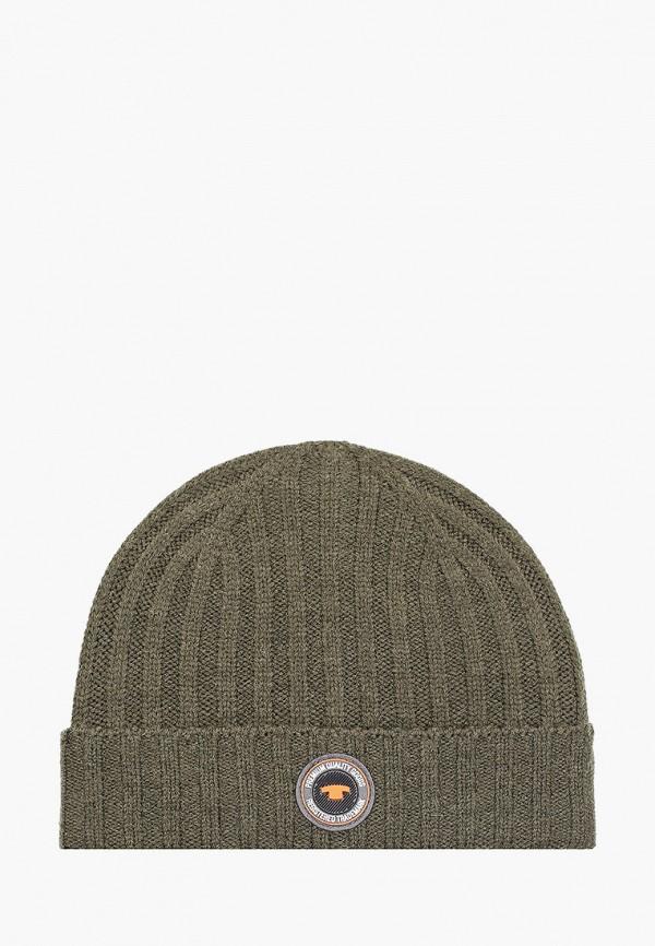 мужская шапка tom tailor, хаки