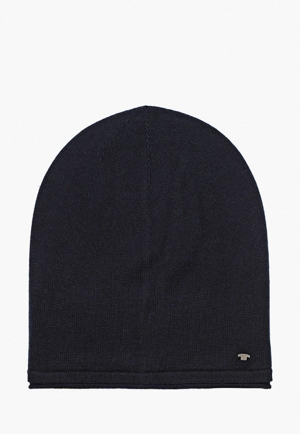 мужская шапка tom tailor, синяя