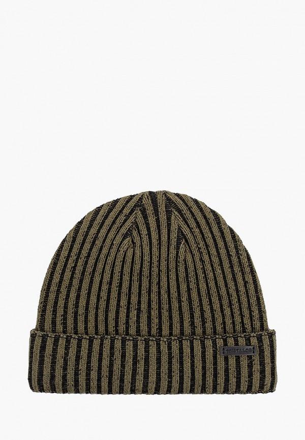 мужская шапка tom tailor, зеленая