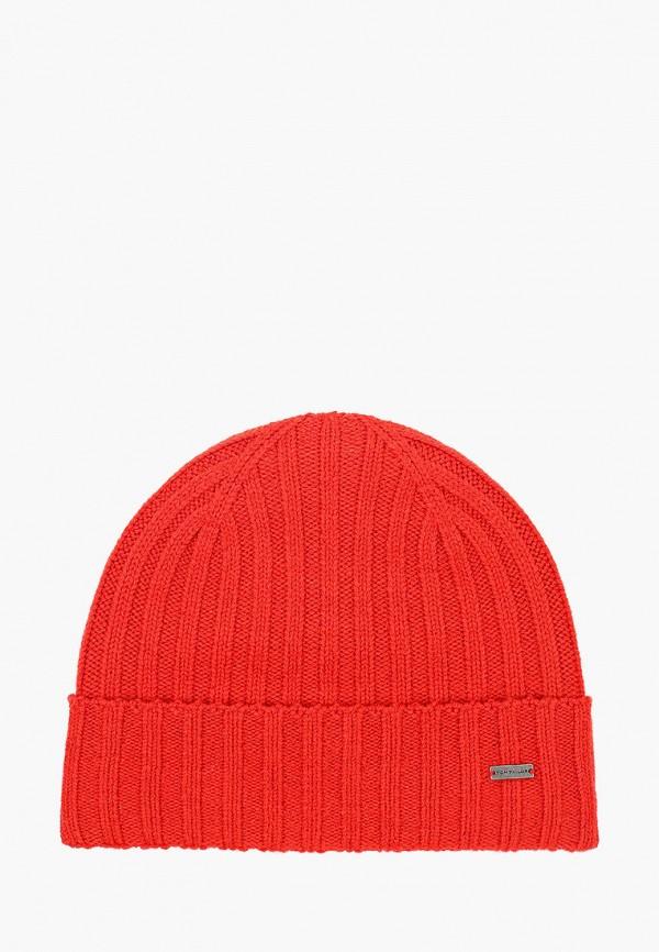 мужская шапка tom tailor, красная