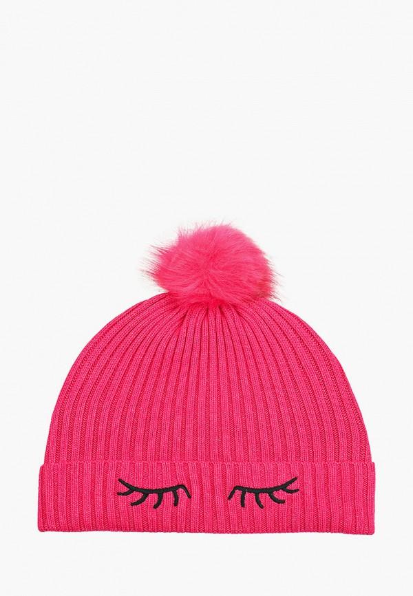 женская шапка tom tailor, розовая