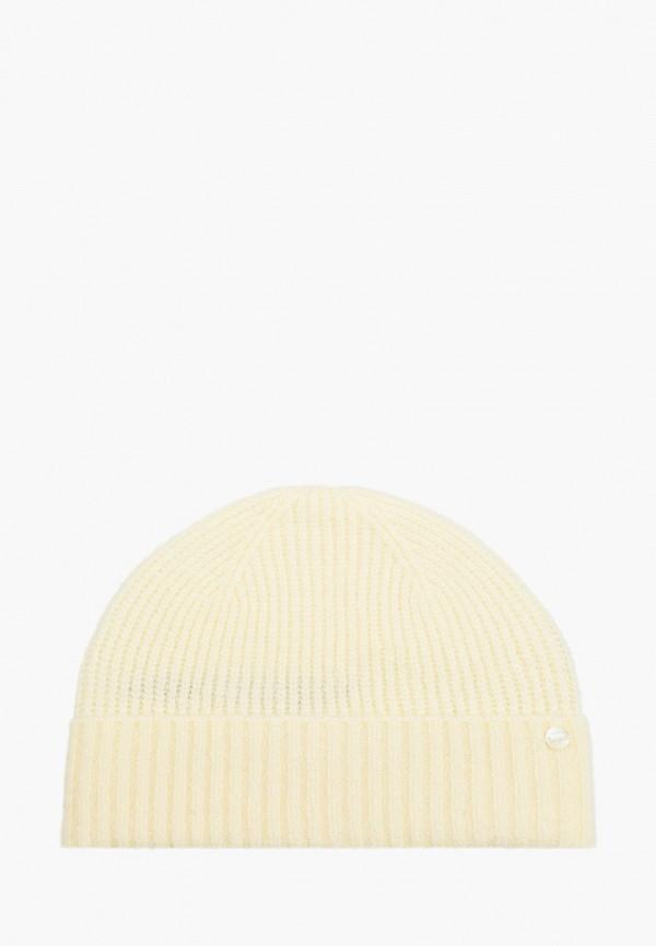 женская шапка tom tailor, белая