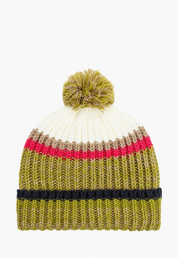 женская шапка tom tailor, зеленая