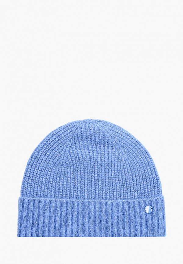 женская шапка tom tailor, голубая