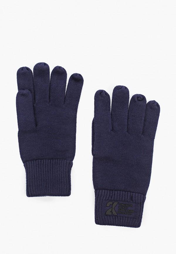 мужские перчатки tom tailor, синие