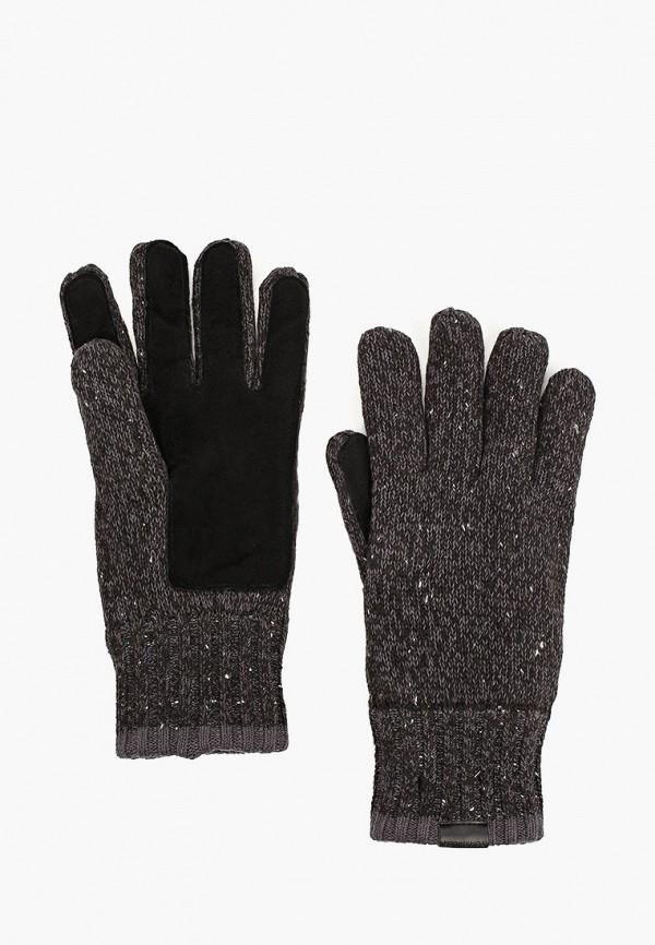 мужские текстильные перчатки tom tailor, серые