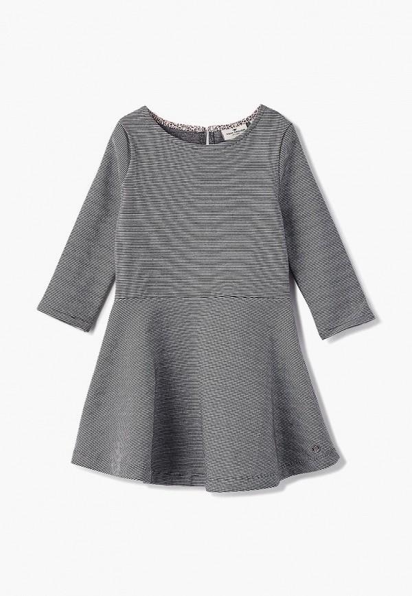повседневные платье tom tailor для девочки, серое