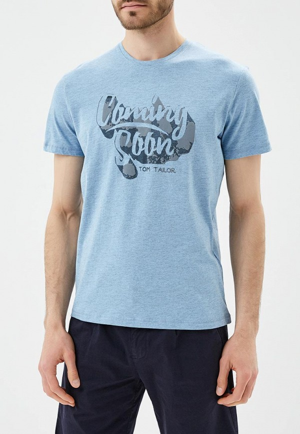 Футболка Tom Tailor Tom Tailor TO172EMBEDT9 футболка tom tailor 1037705 00 10 2063