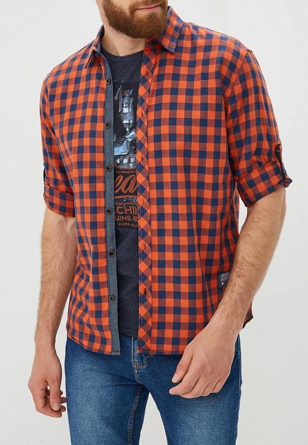 Купить Рубашка Tom Tailor, TO172EMBXGC4, оранжевый, Осень-зима 2018/2019