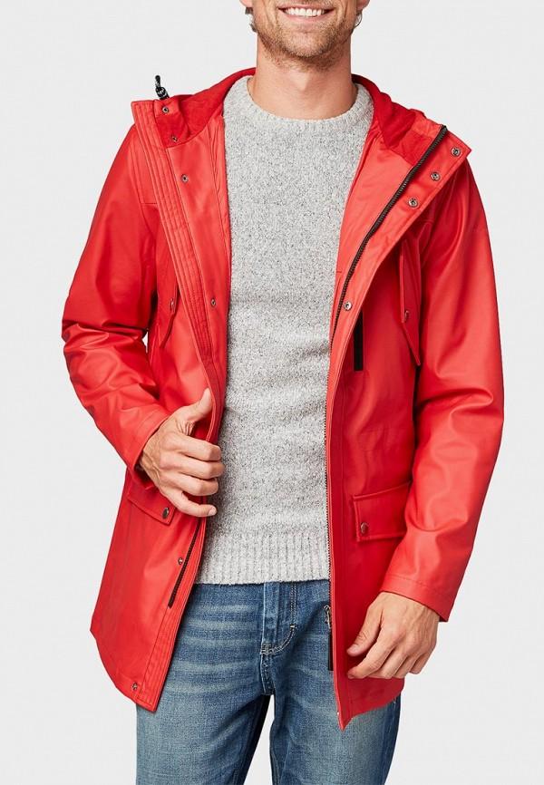 мужская куртка tom tailor, красная